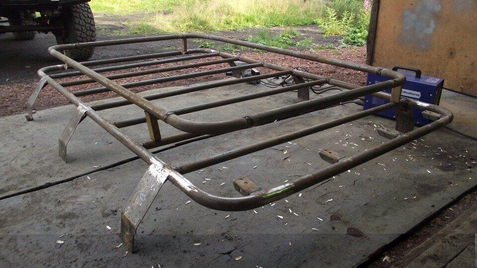 Багажник на крышу уаз 469 своими руками 409