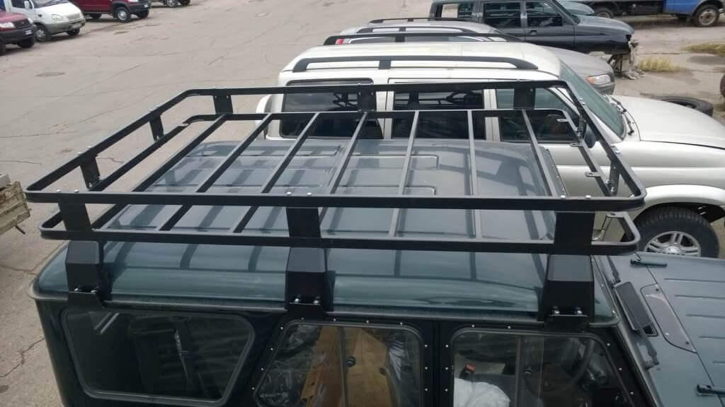 Багажник на крышу уаз 469 своими руками 764
