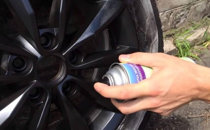 Покраска дисков жидкой резиной Plasti Dip