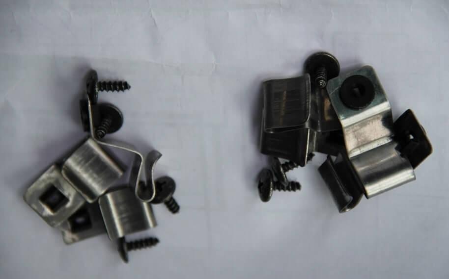 Заводские крепления дефлектора могут повредить краску автомобиля