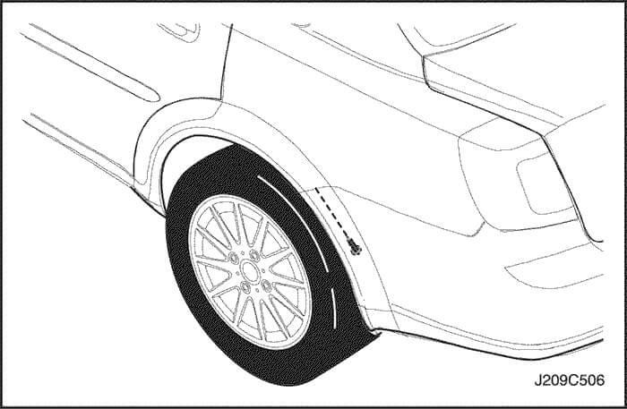 Шаг №1 - Снимаем колеса, убираем брызговики и раскручиваем винты за облицовкой