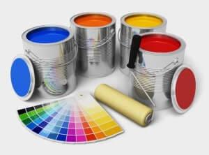 Инструмент для покраски автомобиля валиком