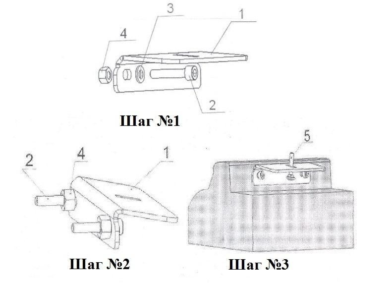Схема сборки багажника Honda CR-V 4
