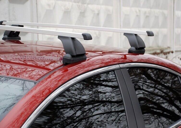 Дуги на крышу с креплением на сливы Ford Focus 2