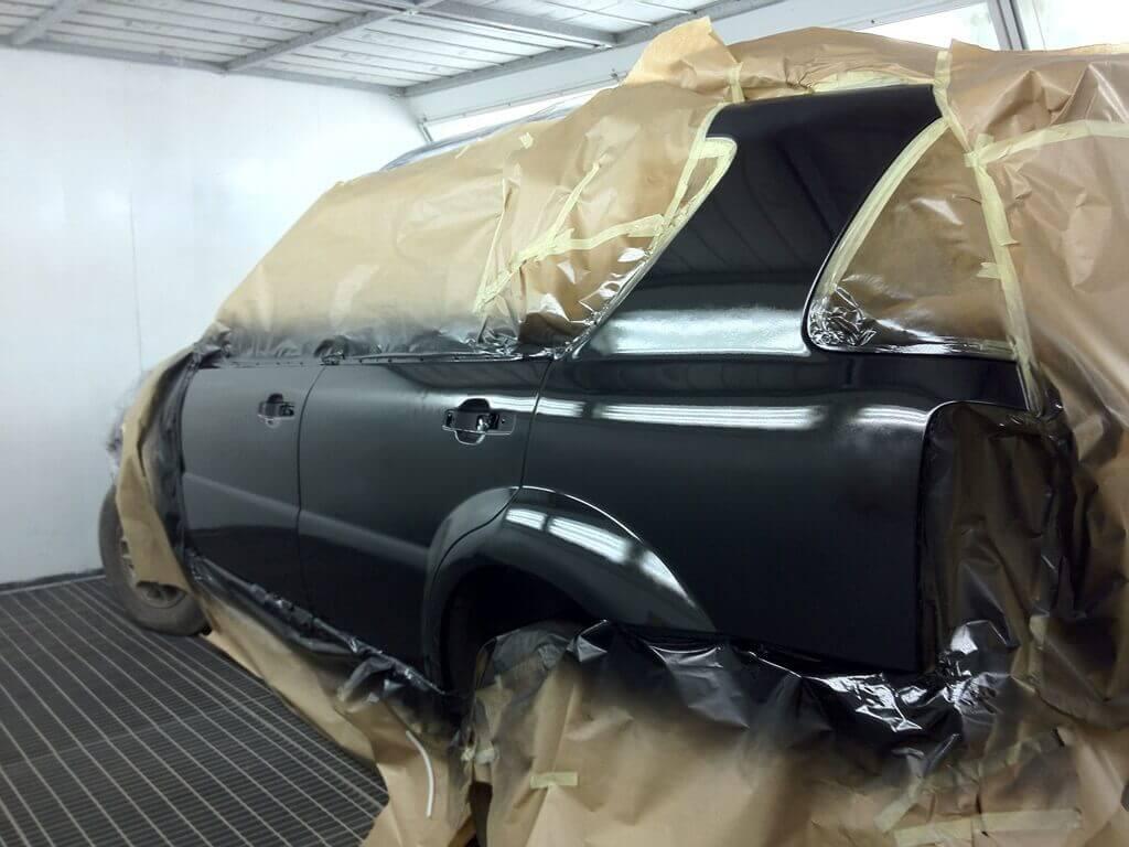 Как правильно покрасить автомобиль