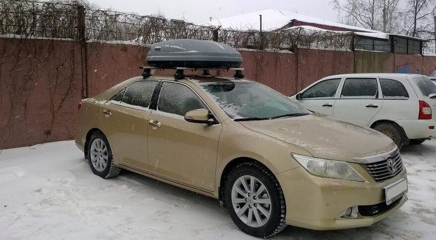 Багажник на крыше Toyota Camry
