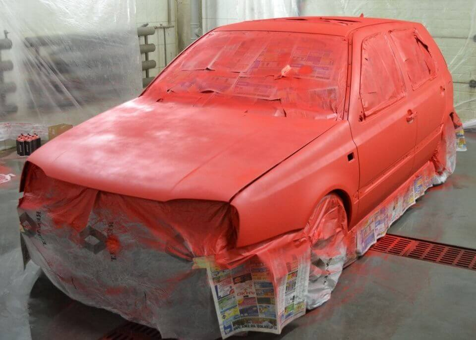 Сколько нужно литров краски для покраски авто