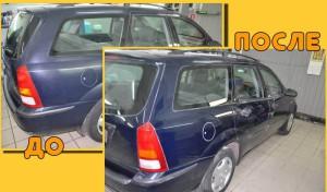 Абразивная полироль для автомобиля