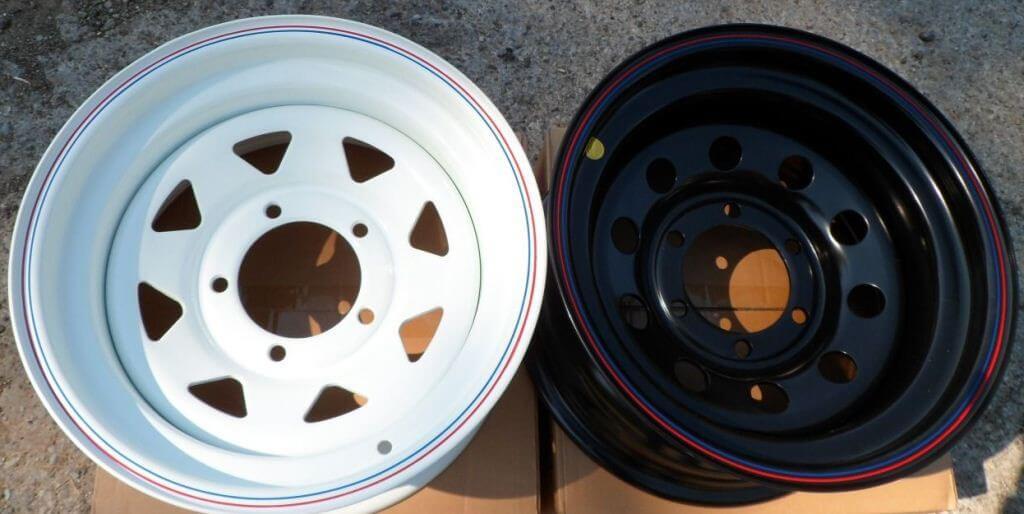 Стальные диски OFF-Road Wheels на УАЗ Патриот