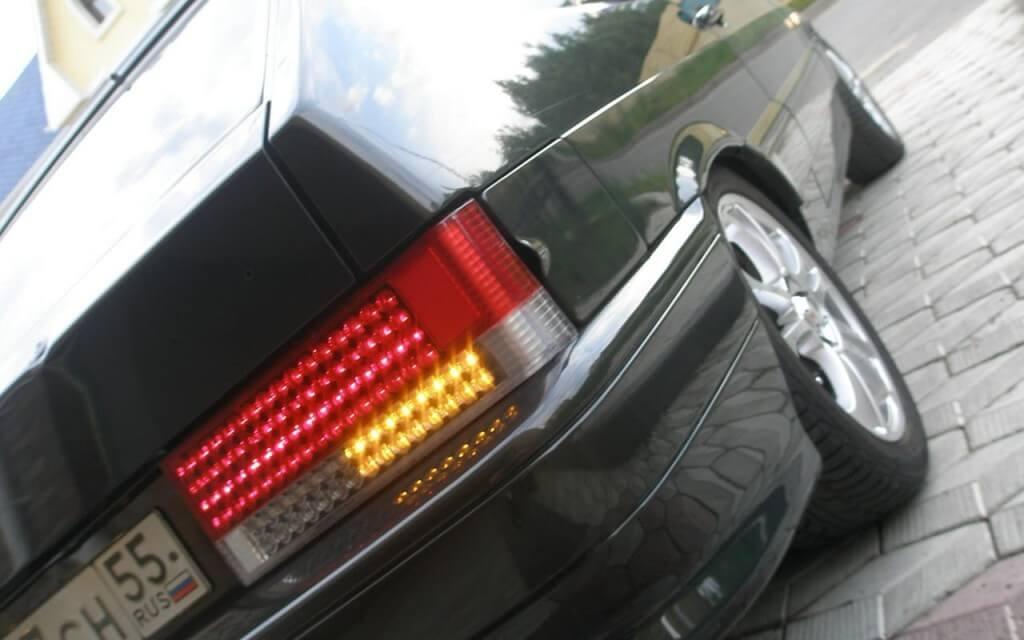 Светодиодные лампы на фонаре ВАЗ 2114