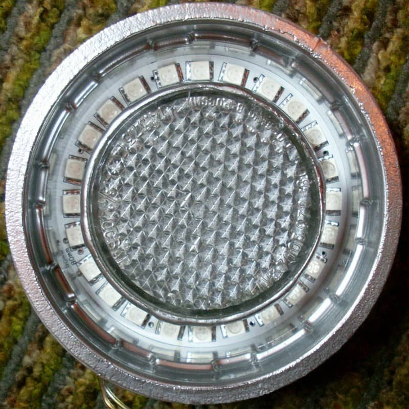 Цилиндр со смонтированным диодным кольцом