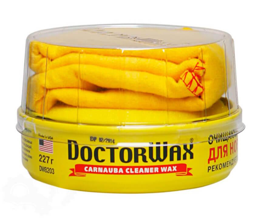 Doctor Wax полироль-защита с воском Карнауба для новых покрытий