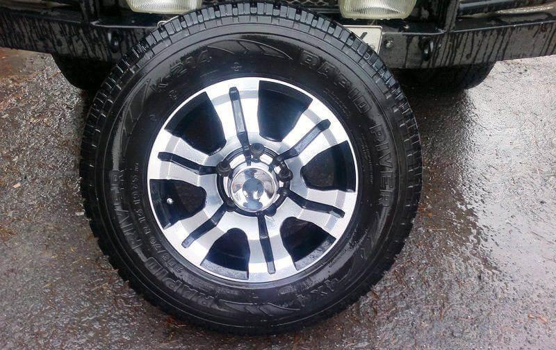 Литые диски на УАЗ 469 R16