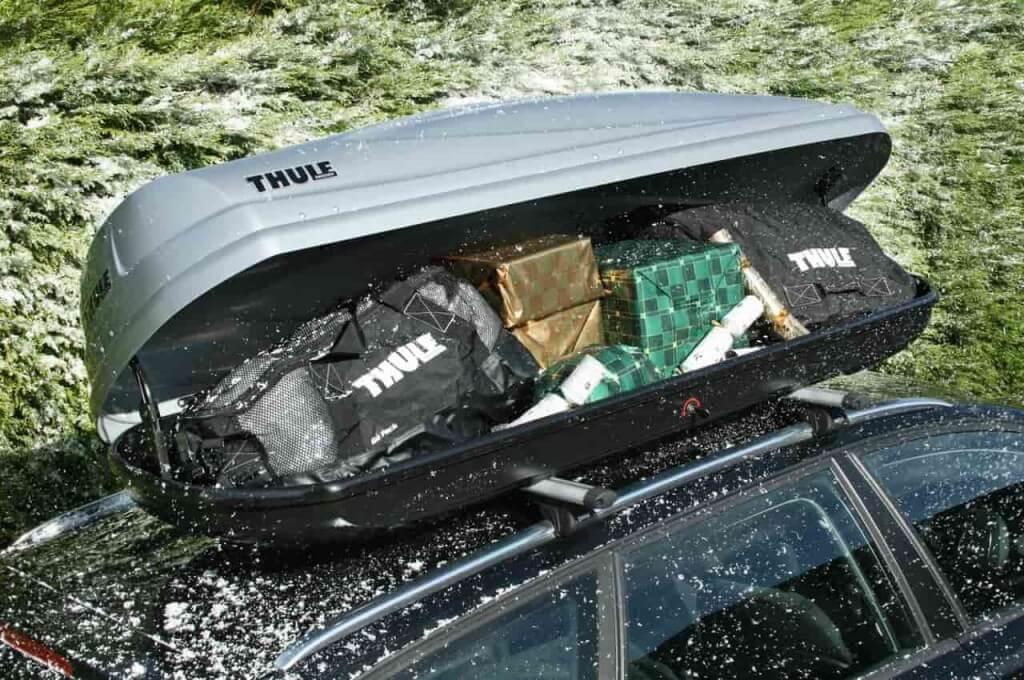 Туристический багажник на крышу