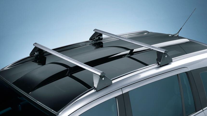 Opel Zafira B-багажник на крыше а/м