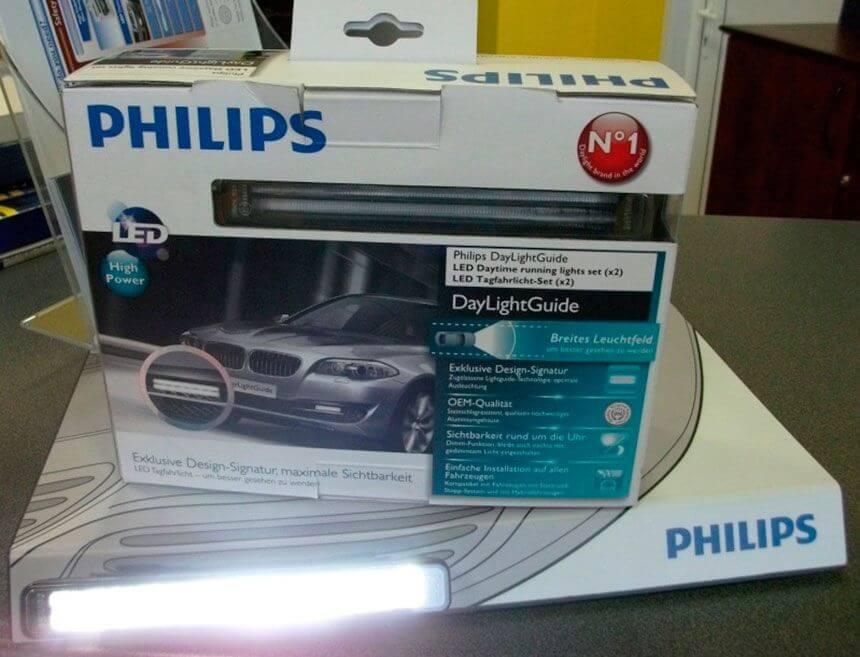 Ходовые огни Philips Daylight Guide LED DRLs
