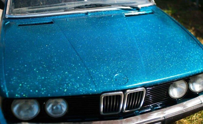 Ксералик - краска для автомобиля с блестками.