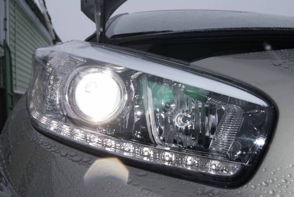 Галогенные лампы на Kia Ceed