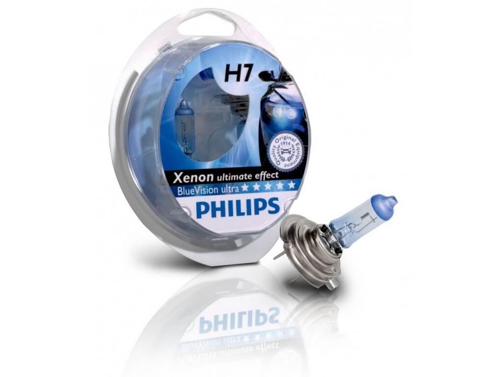 Галогенная лампа Philips BlueVision Ultra SP H7