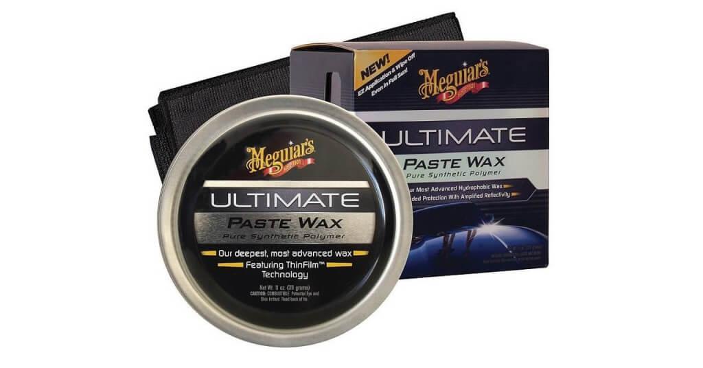 Твердый восковый полироль Meguiars Ultimate Paste Wax