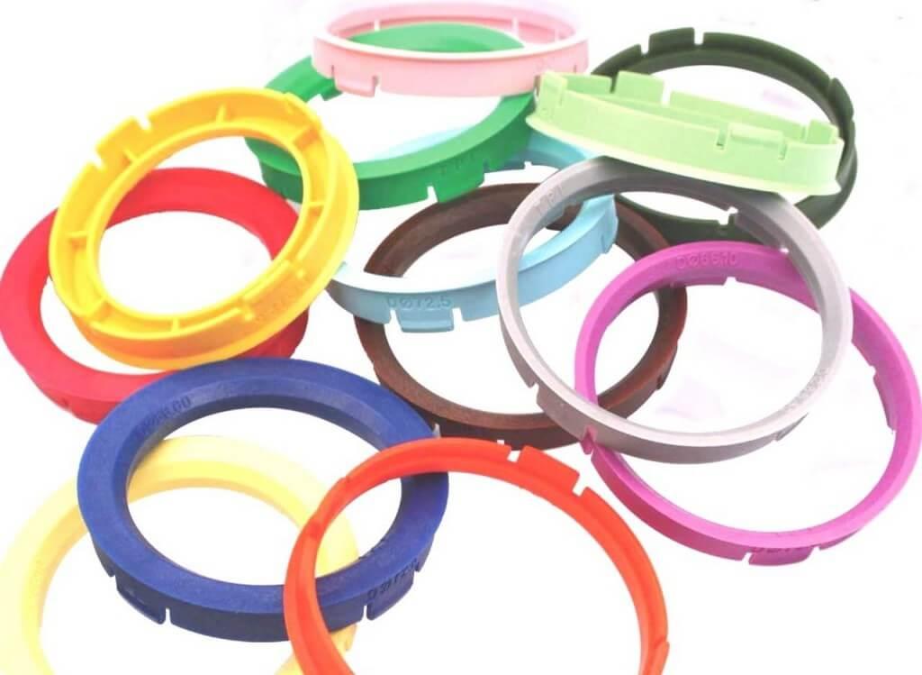 Центровочные кольца из пластика