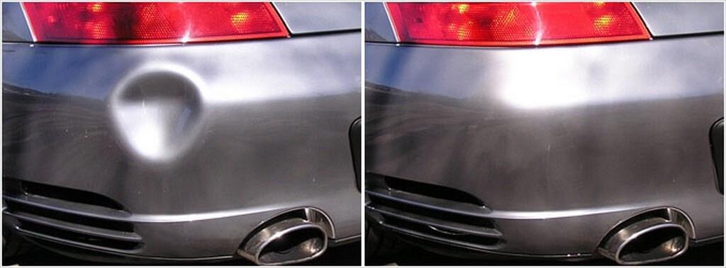 remont bampera 1024x379 - Устранение вмятин без покраски видео