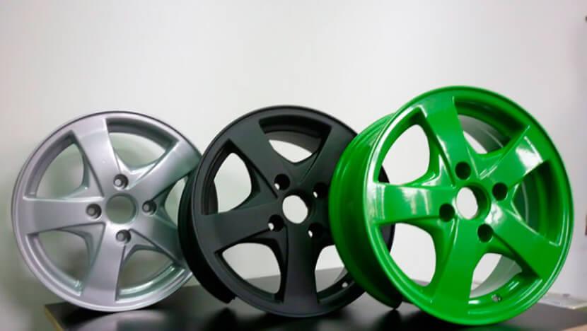 Технология и оборудование для покраски дисков своими руками