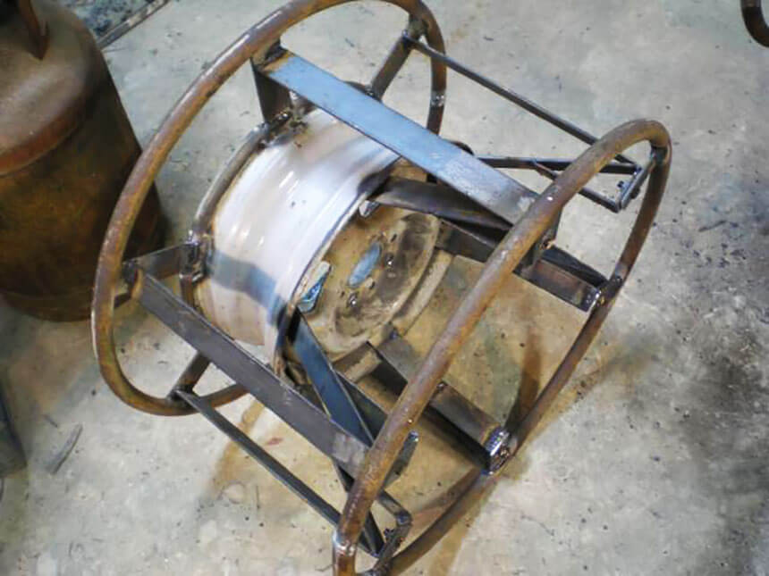 самодельное колесо низкого давления фото