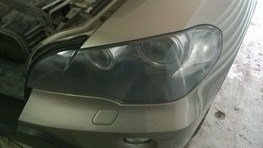 Ухудшение качества освещения фар автомобиля