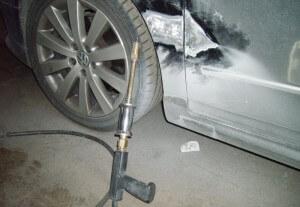 Споттер для ремонта кузова вмятин на кузове авто