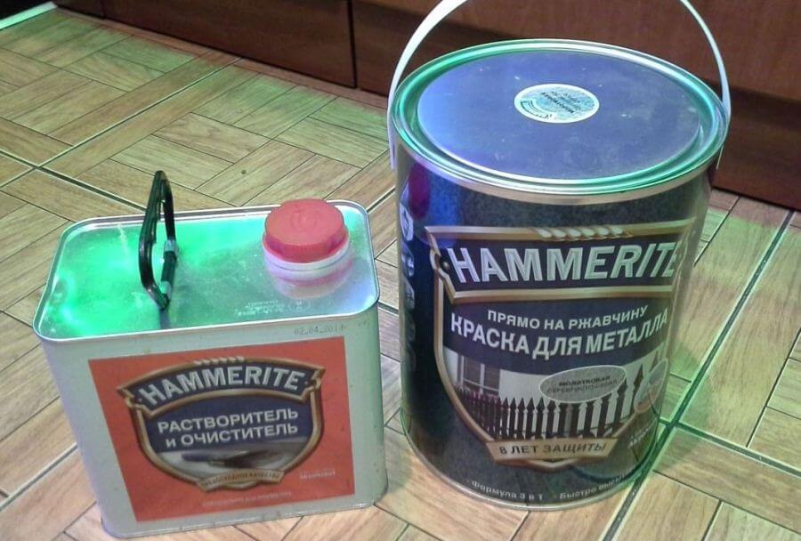 Очистка и обезжиривание металлической поверхности