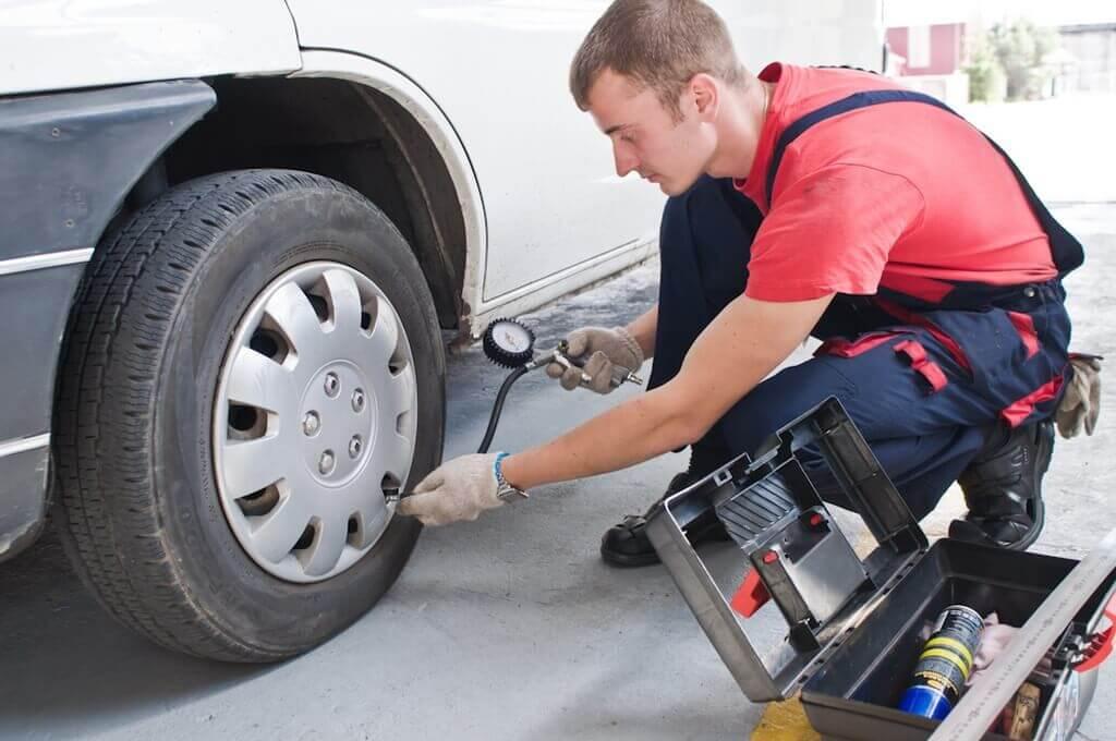 Нормативное давление в колесах машины