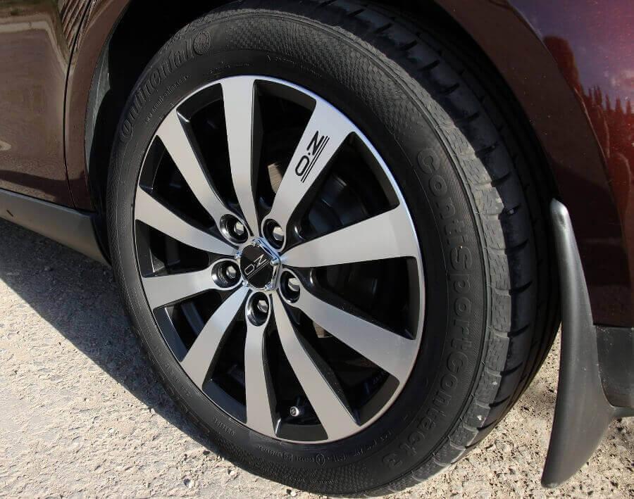 Литые диски OZ Racing с заглушкой с логотипом