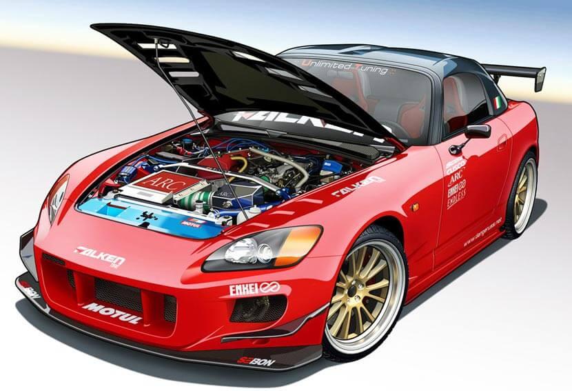 Виртуальный 3D-тюнинг автомобиля: удобные решения
