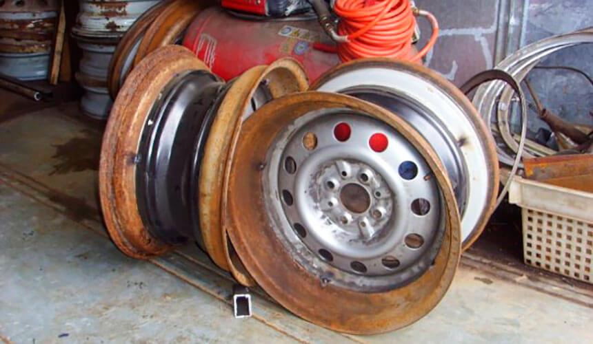 Диск на шину низкого давления