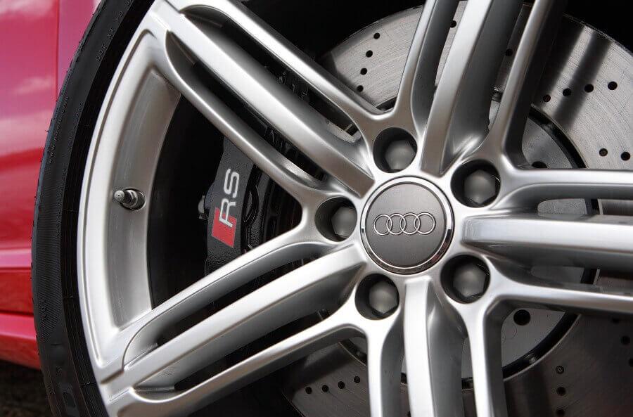 """Заглушка ступицы на литые диски """"Audi"""""""