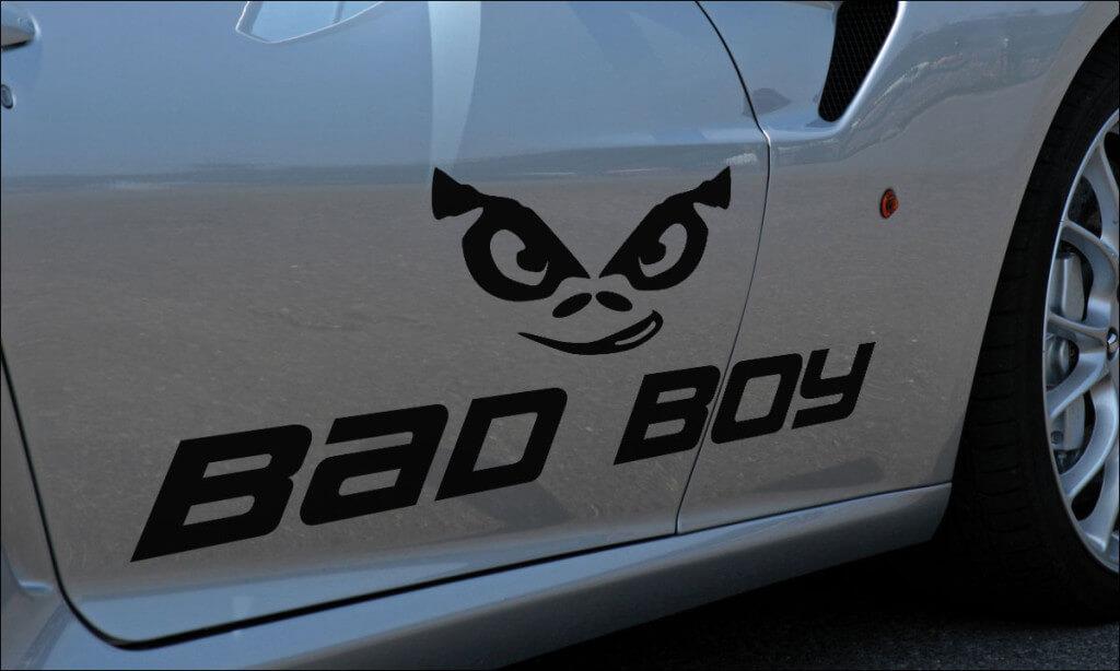 Прикольные наклейки и надписи на авто