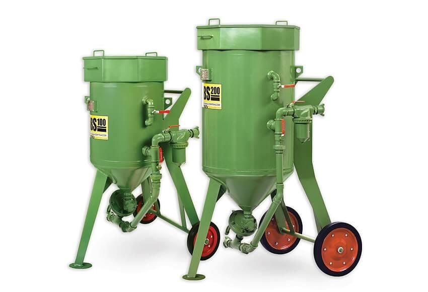 Аппарат для пескоструной обработки металла