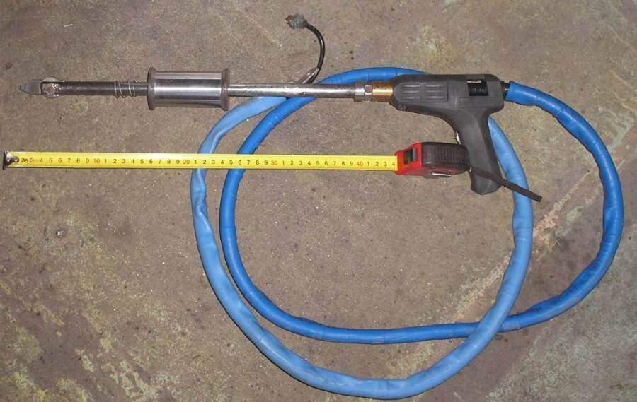 Изготовление сварочного пистолета споттера