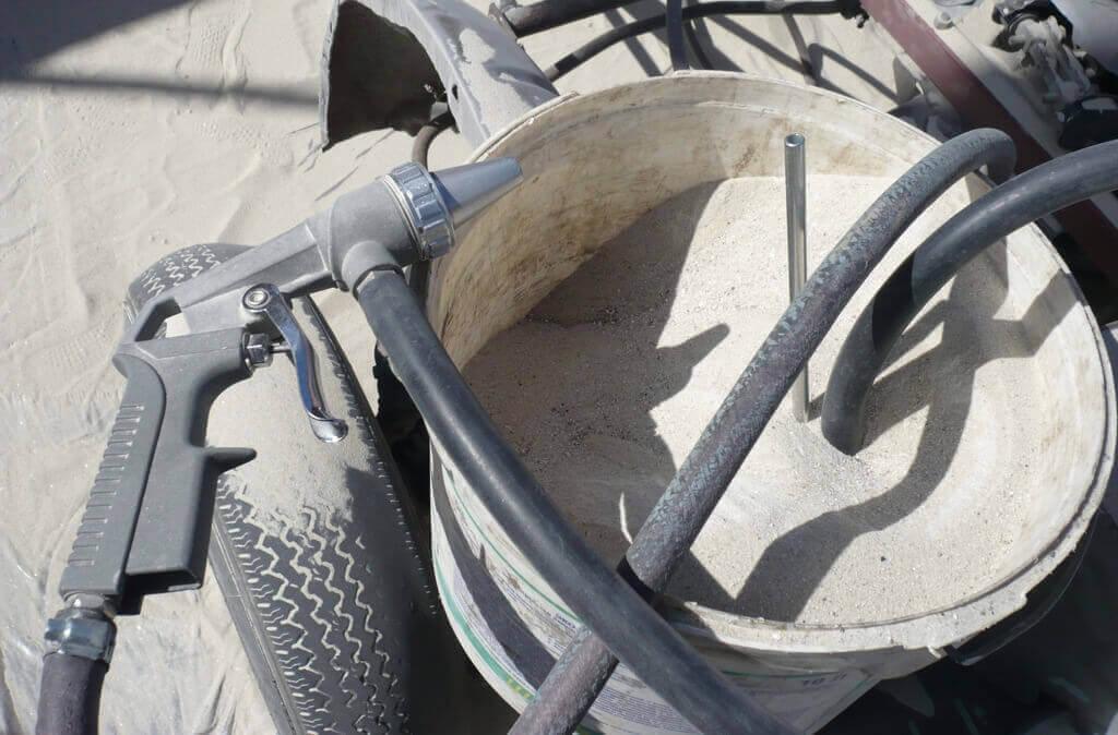 пескоструйка песком