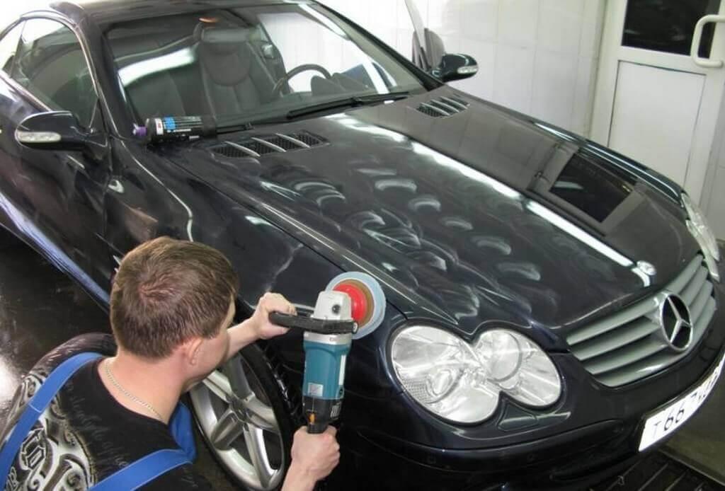 Восстановление лака на кузове авто