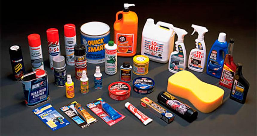 Автомобильная химия при ремонте авто