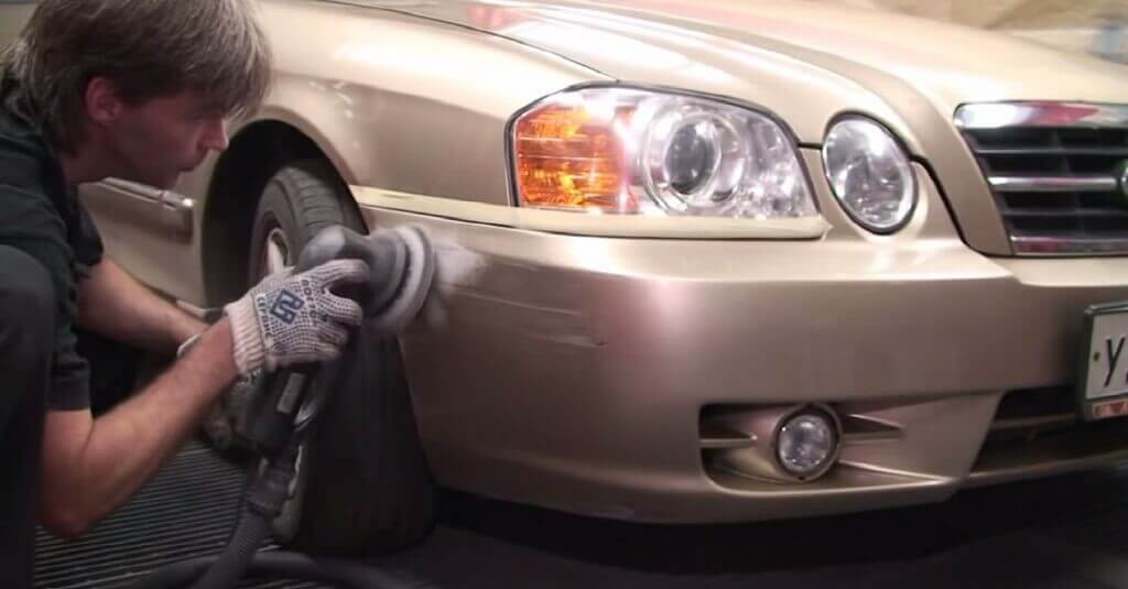 Восстановление пластика авто