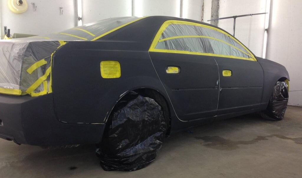 Подготовка авто к покраске своими руками