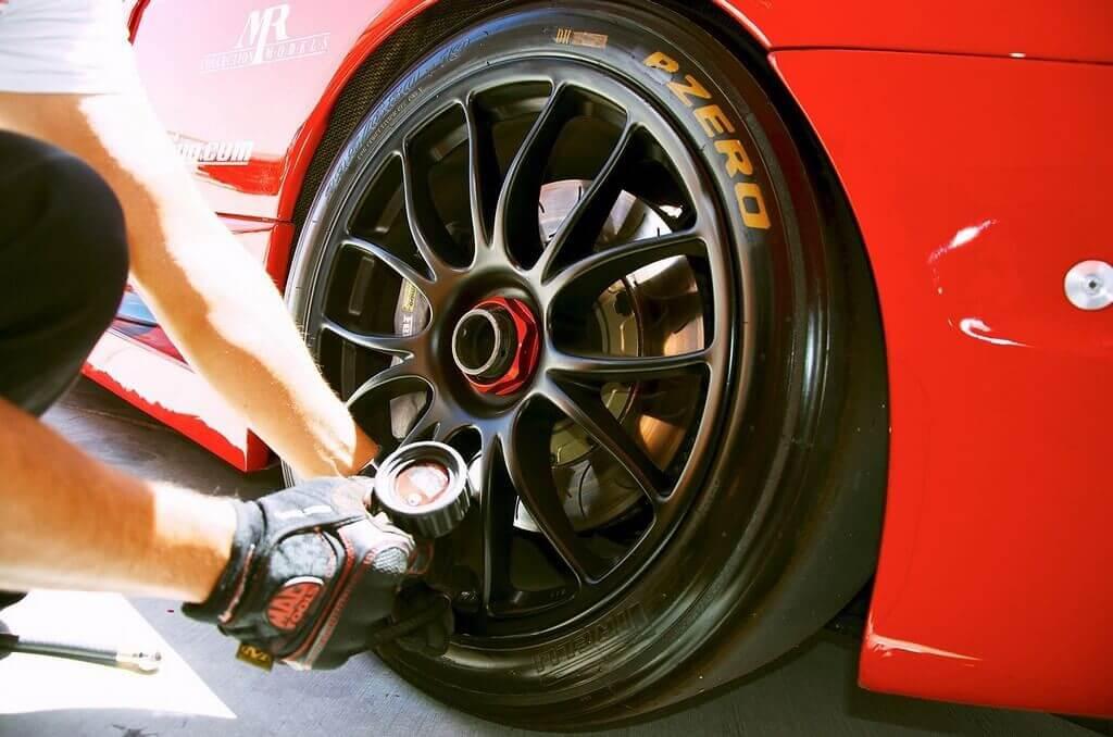 Нормативное давление колес авто
