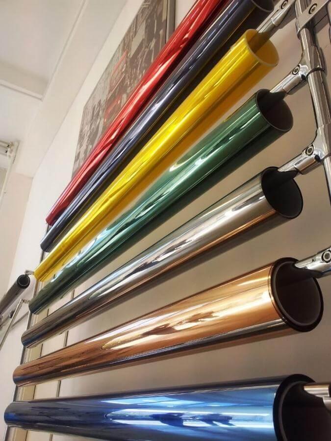 Разнообразие цветовых оттенков пленок для тонировки