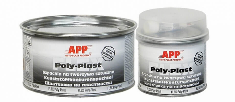 Шпатлевка для пластмассы APP FLEX POLY-PLAST