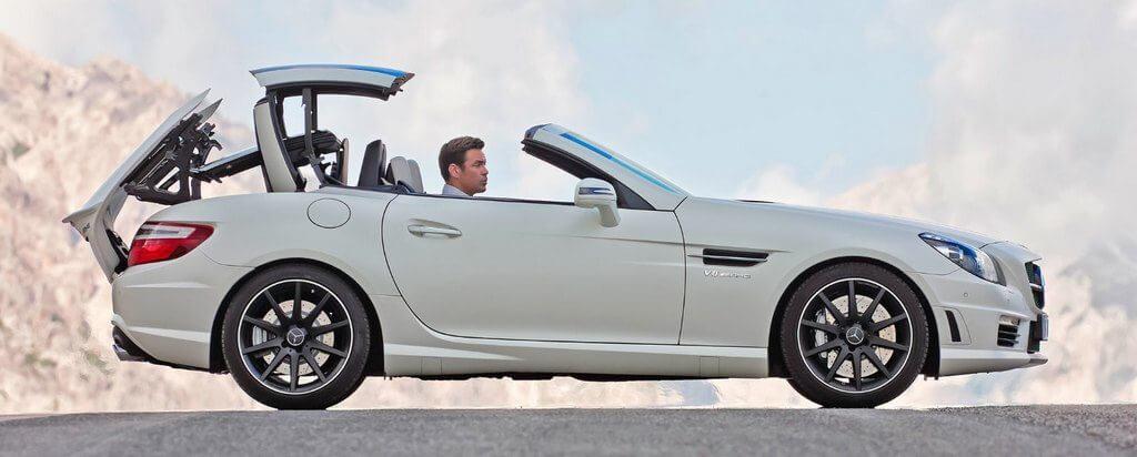 Вид кузова машины — кабриолет