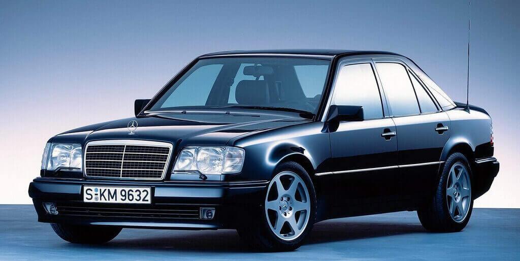 Mercedes W124 с гальваническим типом оцинковки