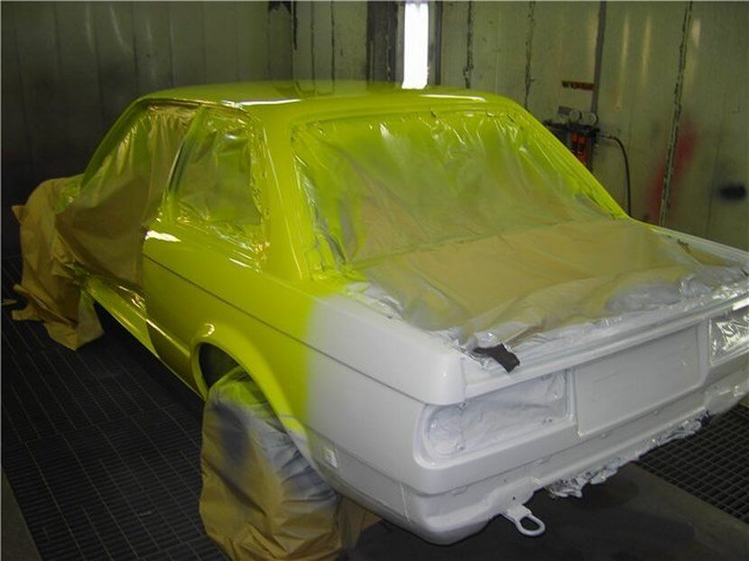 Покраска авто своими руками в гараже